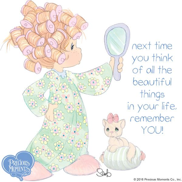 Be YOU tiful!   #PreciousMoments #LifesPreciousMoments #Beauty #YouAreBeautiful