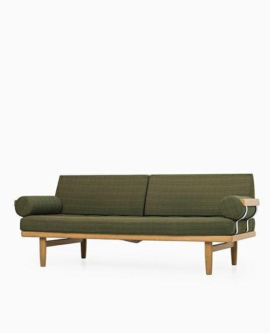 Yngve Ekström; Oak Sofa for Kock, 1960s. Studio Schalling.