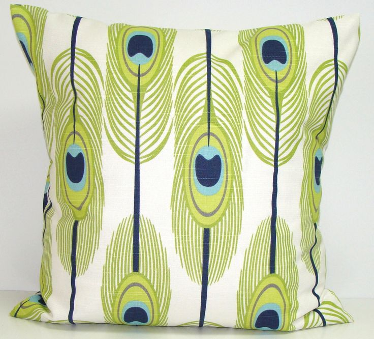 GREEN Pillows, BLUE Pillows, Feather Pillow Cover, Decorative Pillow, Green Throw Pillow, Feather Pillows, Pillow, All Sizes, Euro, Cushion by ElemenOPillows on Etsy https://www.etsy.com/listing/225150092/green-pillows-blue-pillows-feather