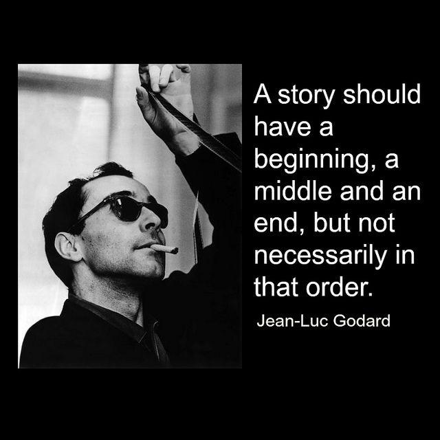 Film Director Quote - Jean-Luc Godard   - Movie Director Quote     #jeanlucgodard