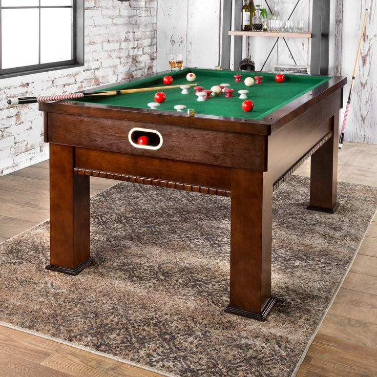 Aston 5u0027 Bumper Pool Table