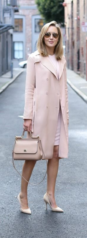 25+ best ideas about Blush pink outfit on Pinterest | Pink jacket ...