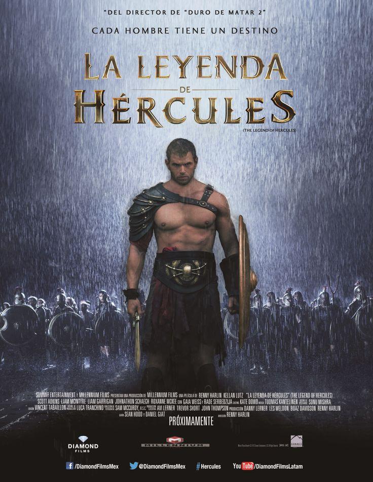 Póster de La leyenda de Hércules, película que Diamond Films México estrenará el próximo 7 de febrero