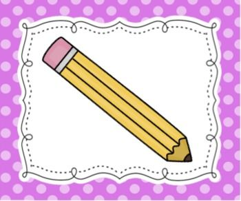 These colorful cards help provide young students with clear and simple directions to follow, including write, cut, color (crayons and markers), glue, and paint. These work well with younger students as well as ELL students.Print, cut, laminate, and simple stick magnet tape on back to hang on the board.