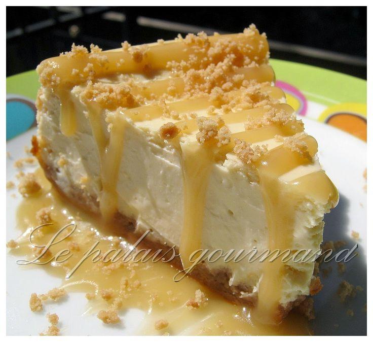 Le palais gourmand: Gâteau au fromage à l'érable