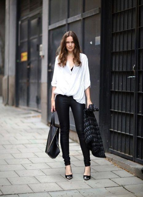 Sunday look: Φορέστε το δερμάτινο κολάν σας | Jenny.gr