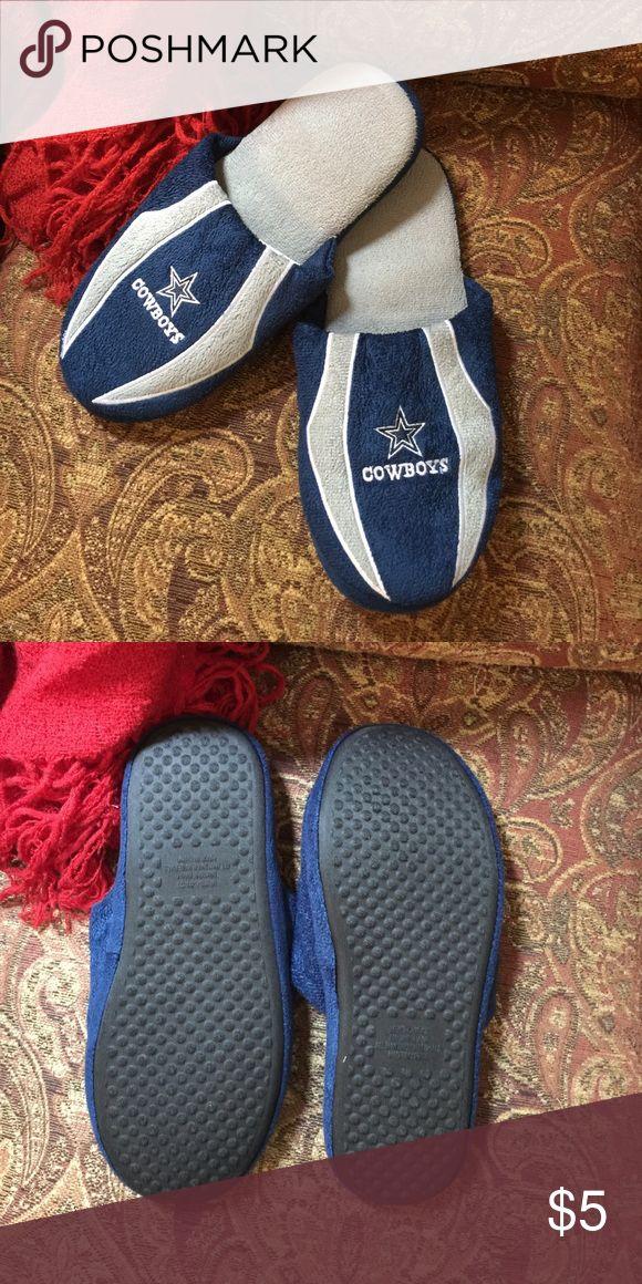 🏈Dallas Cowboys 🏈size 13🏈 🏈🏈slippers 🏈🏈Dallas Cowboys 🏈🏈 Shoes
