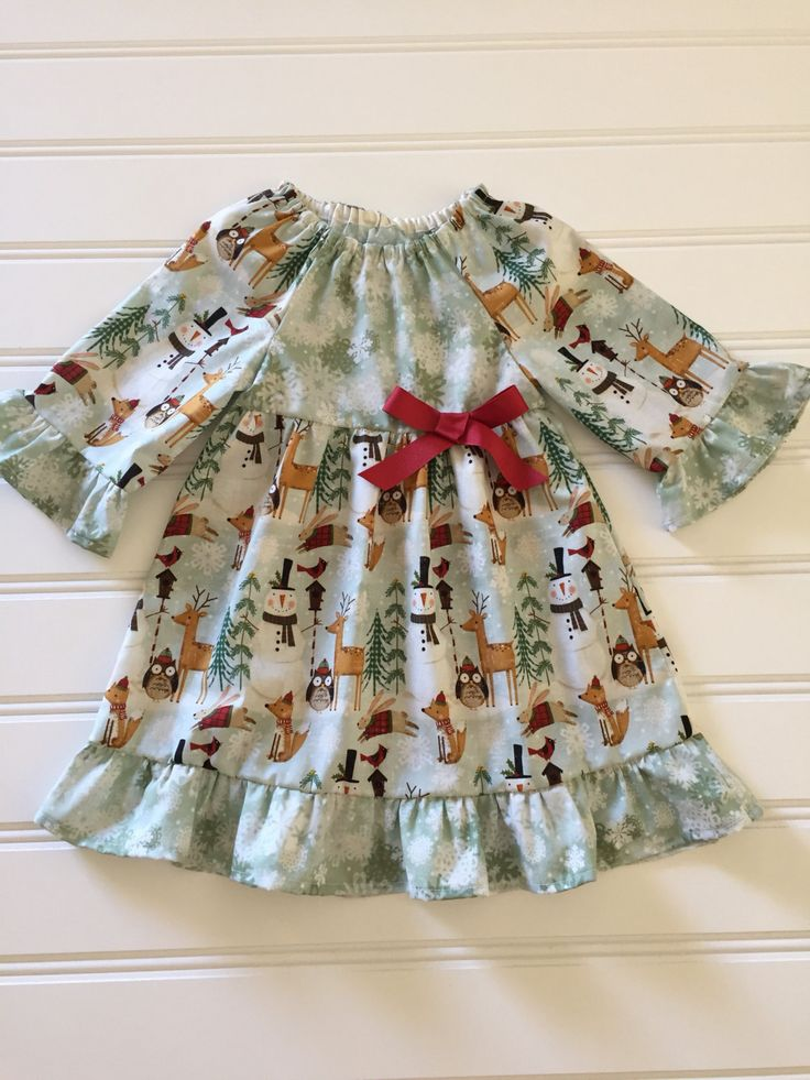 Christmas Dress for Girl, Baby Christmas Dress, Toddler Christmas Dress, Girl Christmas Dress, Girl Holiday Dress, Toddler Christmas outfit by DiMaDaisyBoutique on Etsy