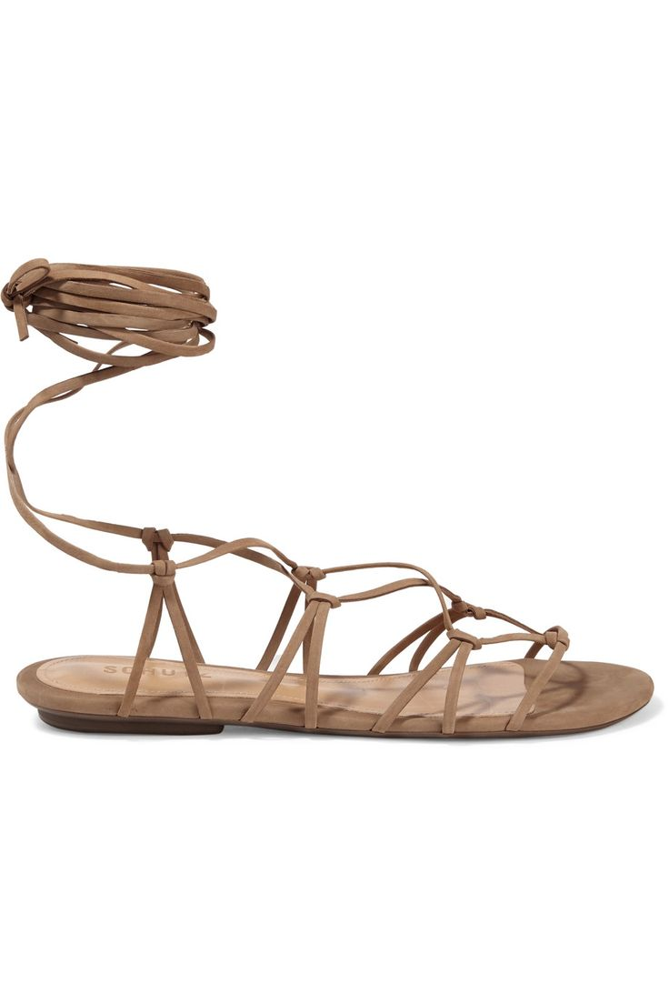 Shop on-sale Schutz Bunnie lace-up leather sandals. Browse other discount designer Sandals & more on The Most Fashionable Fashion Outlet, THE OUTNET.COM