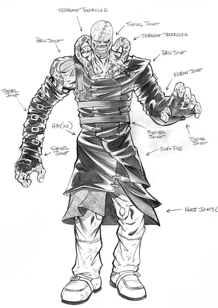 Resident Evil: Nemesis by blogzilly