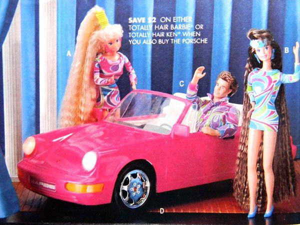 Totally Hair Barbie -- Amazing