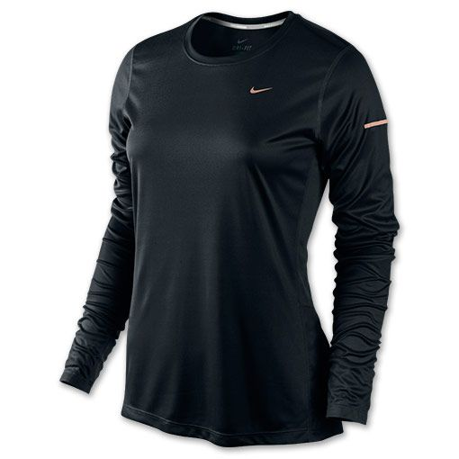 Women's Nike Miler Long Sleeve Running Shirt