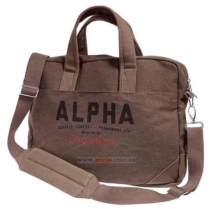 Сумка Deuce Messenger Alpha Industries (Mud Brown) Наявність: під замовлення Ціна: уточнюйте, будь ласка