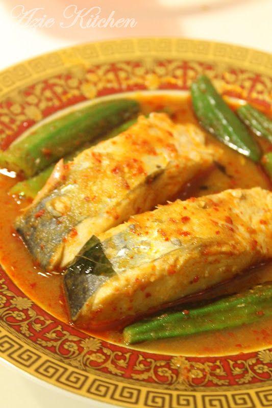 Azie Kitchen: Masak Asam Pedas Ikan Parang