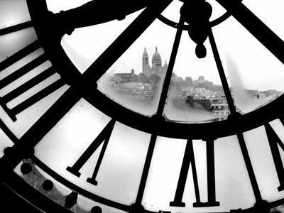 Beautiful blackampwhite city clock photo image 309339 on