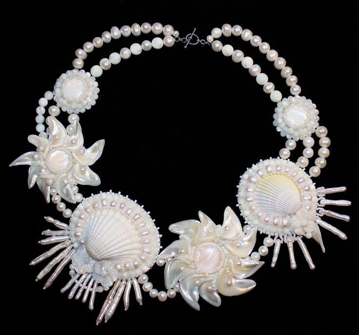Комплект для морской невесты   biser.info - всё о бисере и бисерном творчестве
