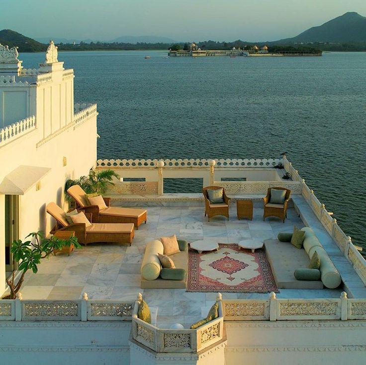 Taj Lake Palace, udaipur, india Outdoor, Patio