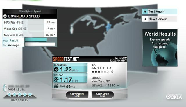 Top Connection Speed Tests
