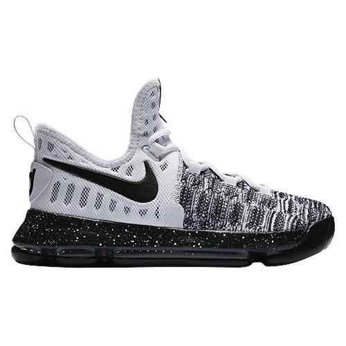 huge discount b4b56 28f72 Nike Zoom KD 9 Youth Kids  oreo  Black White Basketball Shoes Size 5Y  855908-100  fashion  clothing  shoes  accessories  kidsclothingshoesaccs   boysshoes ...