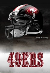 49er Nation: Niners for Life! San Francisco 49ers helmets