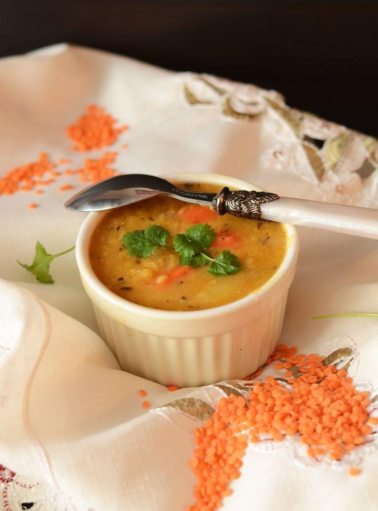 zupa z soczewicy, przepis na zupę z soczewicy, soczewica czerwona