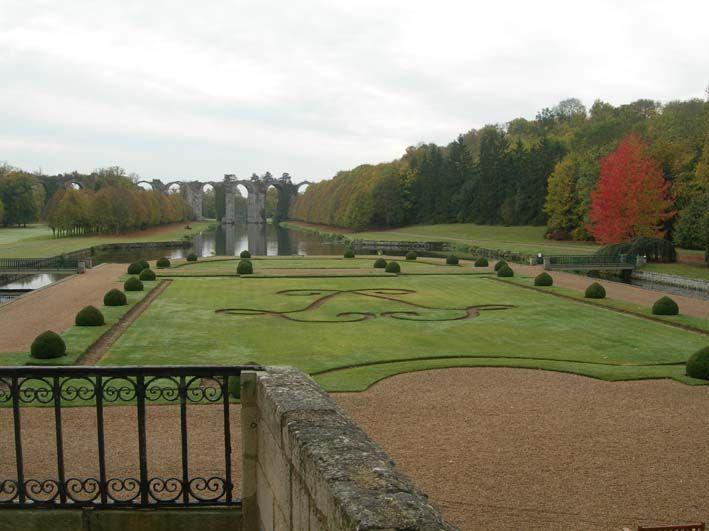 Association des Parcs et Jardins en Région Centre : Jardin du Château de Maintenon