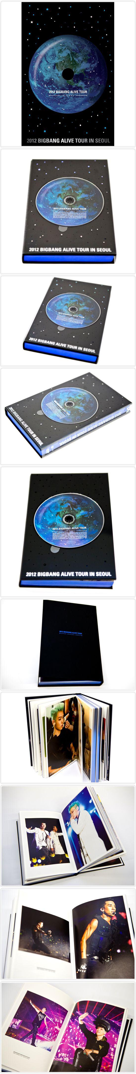 2012 BIGBANG LIVE CONCERT DVD [ALIVE TOUR IN SEOUL] K-POP New&Sealed