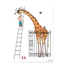 KEK Amsterdam Poster 60 x 42 cm - Giant Giraffe