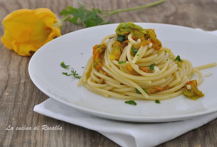 Pasta+con+fiori+di+zucca