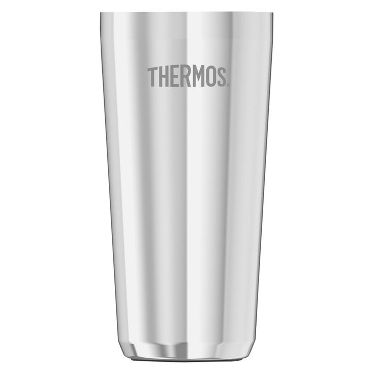 Thermos 20oz Vacuum Insulated Coffee Cup Insulator - Stainless Steel (Silver)