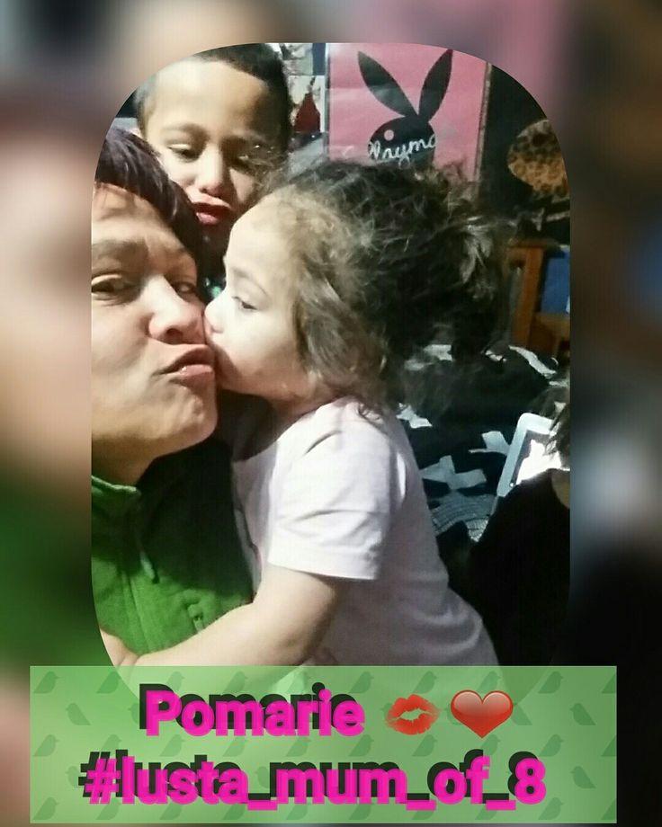 Mummy's baby girls kiss good night xx