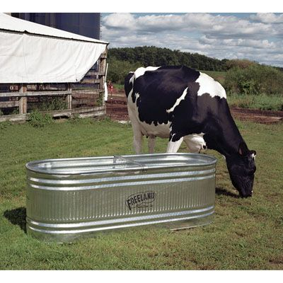 stock tank 300 gallon galvanized | 144-Gallon Galvanized Stock Tank ~ Feed & Water Supplies