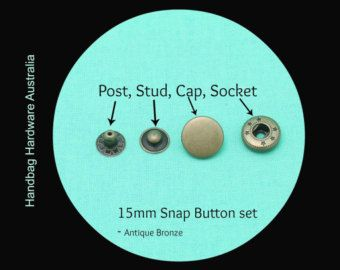 20mm Strap Anchors  Edge placement/Screw back  Silver