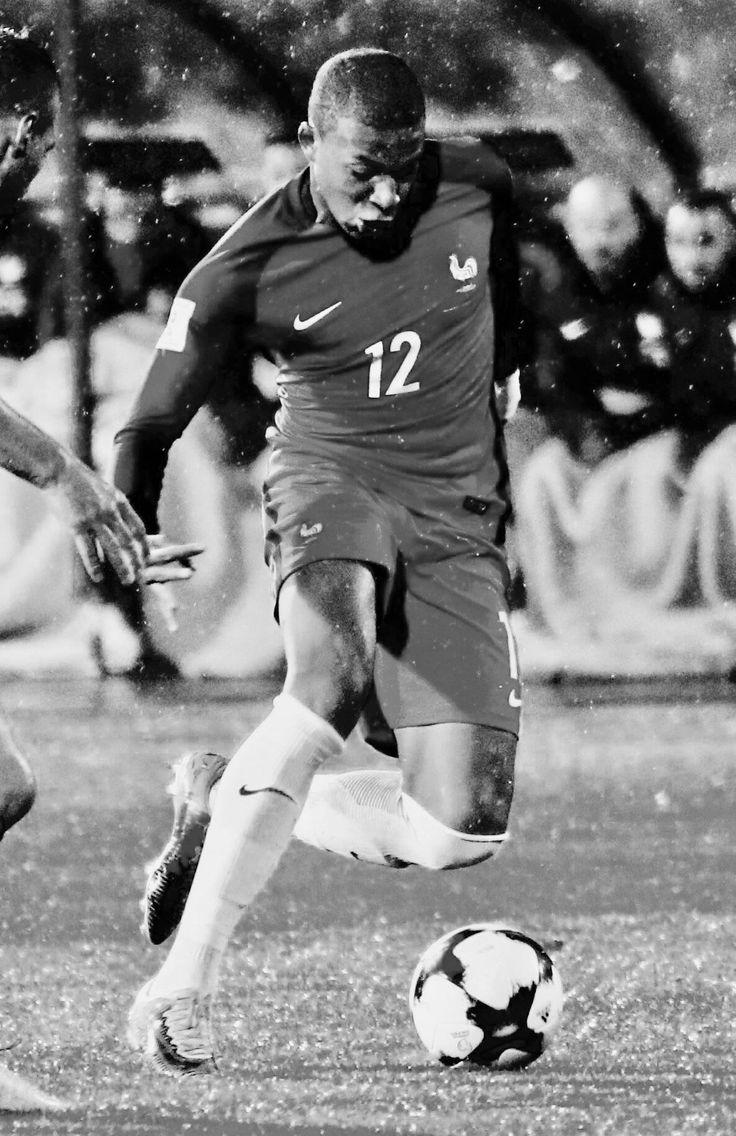 Kylian Mbappé (AS Monaco on loan to Paris Saint-Germain) [France] #portugal