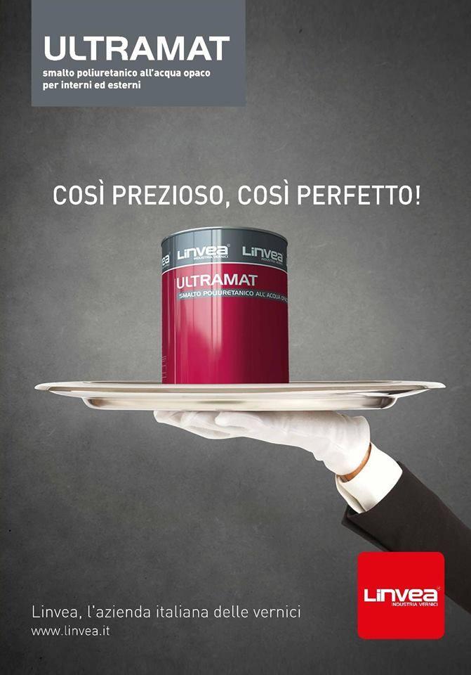 #Ultramat Così prezioso, così perfetto! #Linvea #colors #farben #vernici #colori