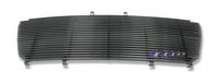 Ford F150  2004-2008 Black Powder Coated Main Upper Black Aluminum Billet Grille