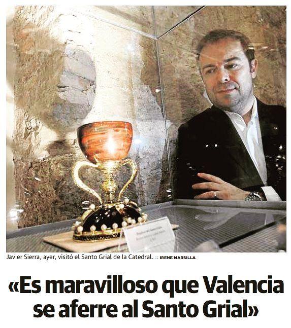 Hoy en la contra de @lasprovincias reflexiono sobre el grial de #Valencia #ElFuegoInvisible y el poder de los mitos en nuestros días...