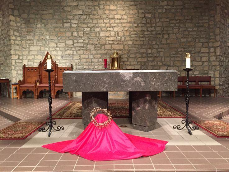Best images about church decor ideas lent palm