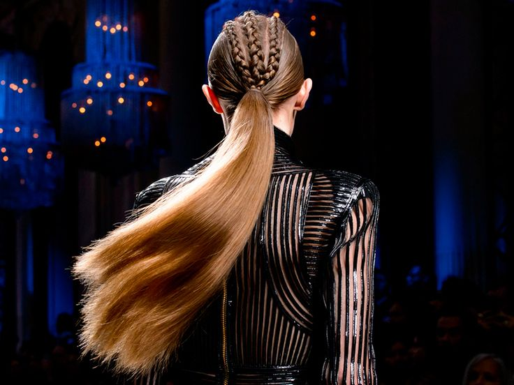 Haute Couture para pelo, la tendencia de Balmain a la que no te resistirás