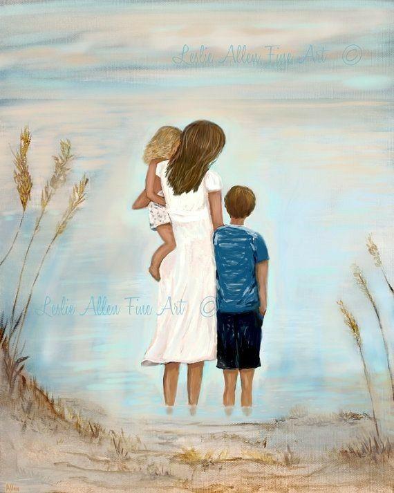 шли картинка мама с двумя сыновьями рисунок мне