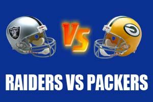 Watch Oakland Raiders vs Green Bay Packers Game Live Online Stream
