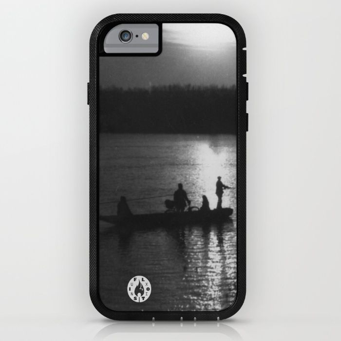 """Cable ferry"" iPhone 6 adventure case by Fluxionist on Society6"