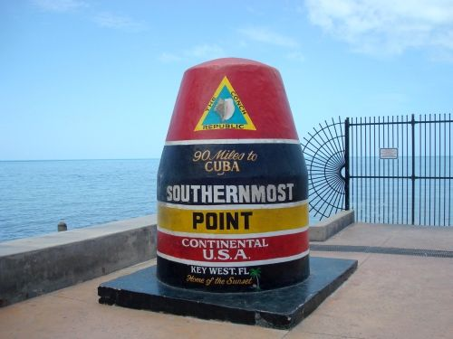 Southernmost Point Buoy Key West Florida - Key West is a tourists delight!  I recommend that you add it to your bucket list