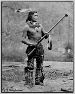 """""""Standing Buffalo"""" Winnebago Tribe 1865 - Ho-Chunk, also known as Winnebago, are a Siouan-speaking tribe of Native Americans, native to the present-day states of Wisconsin, Minnesota, and parts of Iowa and Illinois. Today the two federally recognized Ho-Chunk tribes, the Ho-Chunk Nation of Wisconsin and Winnebago Tribe of Nebraska, have territory primarily within the states included in their names."""
