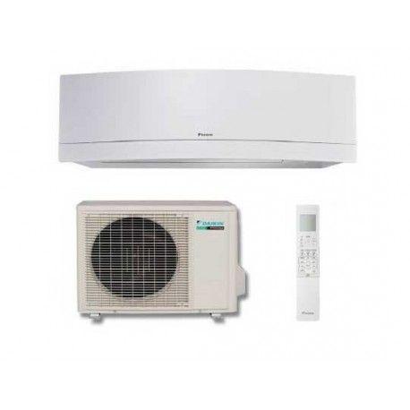 #Climatizzatore #DaikinEmura FTXG25LW + RXG25L con scheda wifi Mono Inverter A+++: design innovativo, controllo Wi-Fi, 9000 BTU e pressione sonora 19 dB(A)