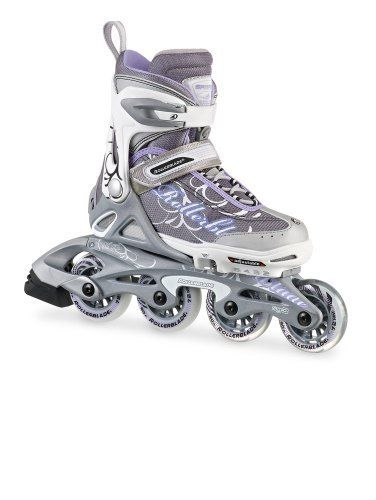Rollerblade Girl's 2013 Spitfire TW Adjustable Inline Skates, , US Kids 2 to 5 Adjustable Size by Rollerblade. $79.99. Smooth and stable 72mm 80A durometer wheels matched with a SG3 bearing are very durable. Stable strong and ideal for a kid. Adjustable 4 full shoe sizes to accommodate growing feet. Superior quality kids skate with great support to make skating easy. Composite frames are strong and accommodating a 76mm wheel upgrade. The perfect skates for kids Ro...