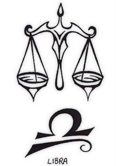 Libra Tattoo...the bottom symbol only, lenny-ized & with my name maybe? @Kelly DeNucci?