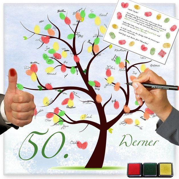 *Der Fingerabdruck Baum (wishing tree genannt) ist für einen Geburtstag genau das richtige persönliche Geburtstagsgeschenk aller Gäste. Der Wishing Tree wird gedruckt geliefert (Portofrei).* Alle...