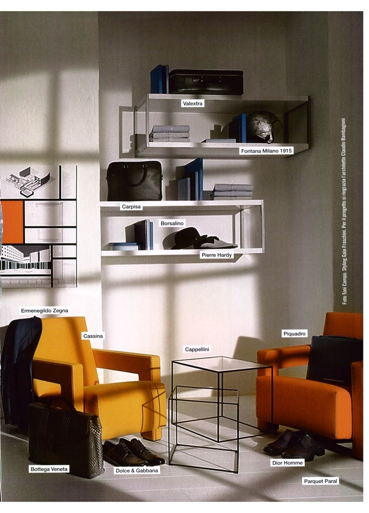 L'UOMO VOGUE FASHION GUIDE - UTRECHT, design Gerrit Thomas Rietveld