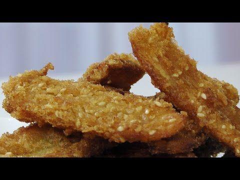 Банановые фриттеры - Кулинарные видео рецепты
